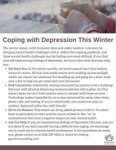 Winter Toolkit - Depression