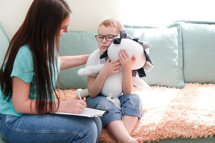 child in counseling