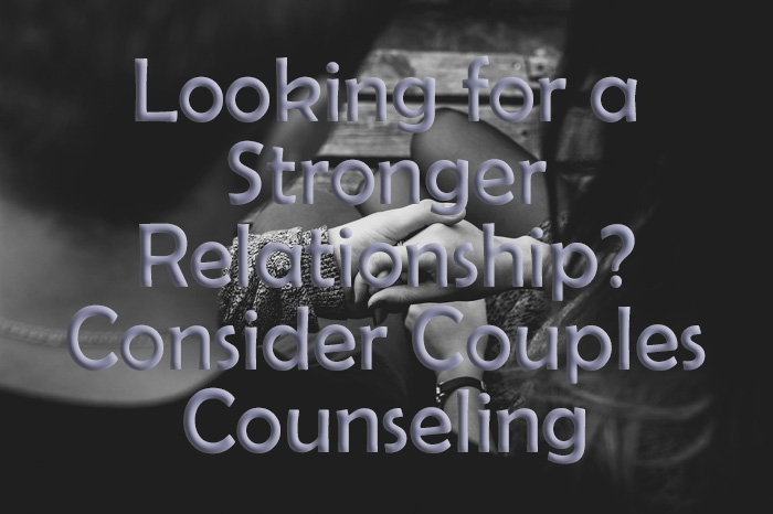 couples counseling or relationship counseling can stregthen a relationship