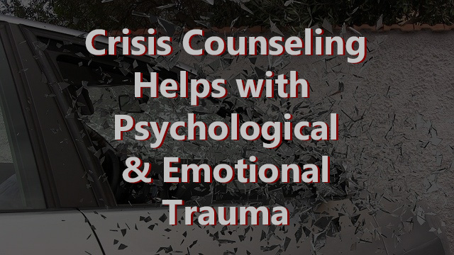 crisis counseling for trauma